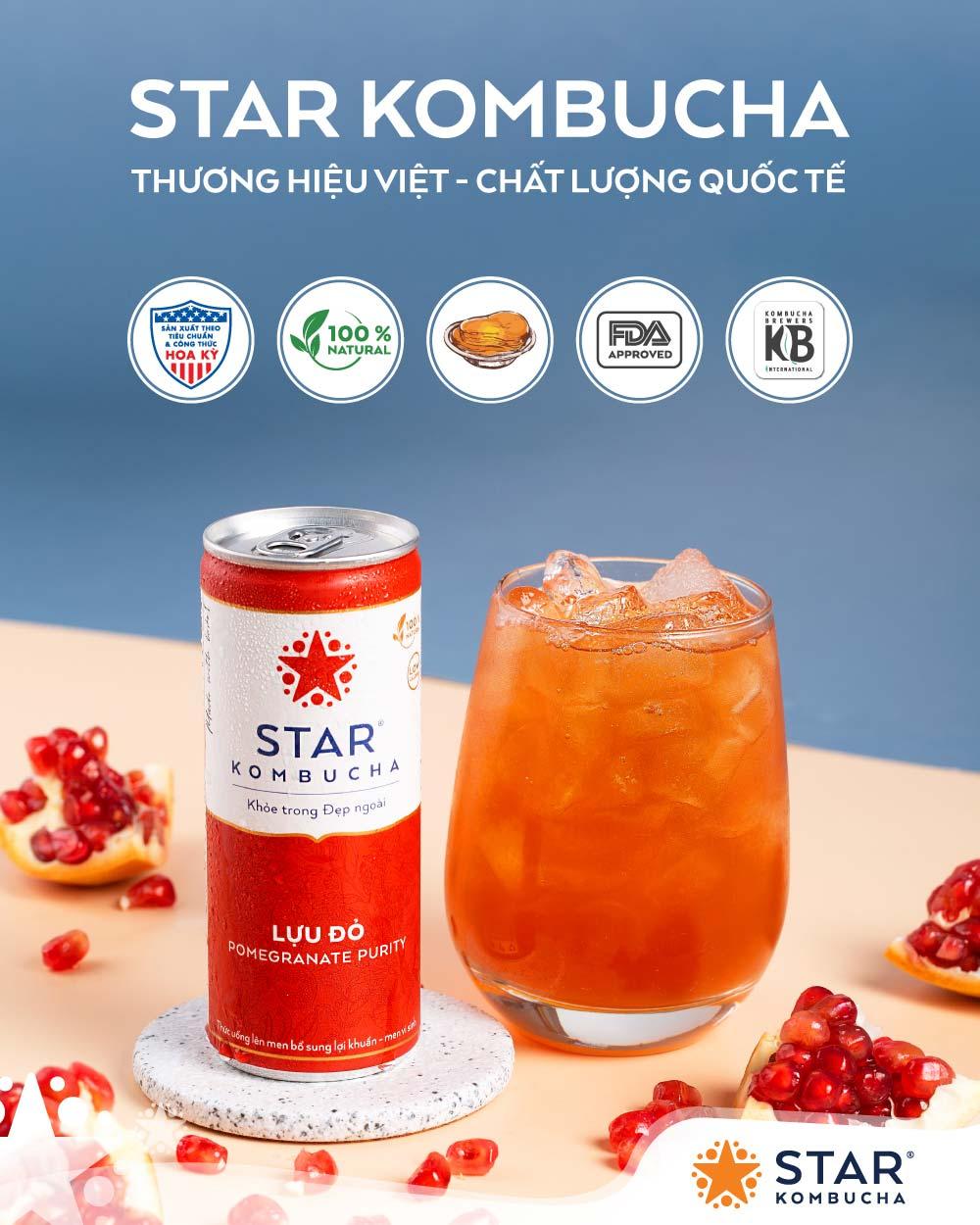 Star Kombucha tốt cho tiêu hóa