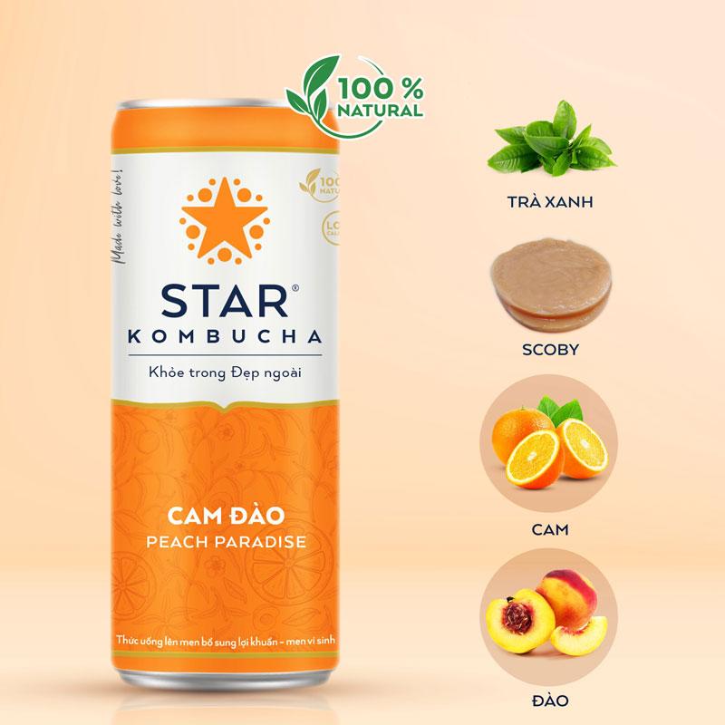 Star Kombucha tốt cho sức khỏe