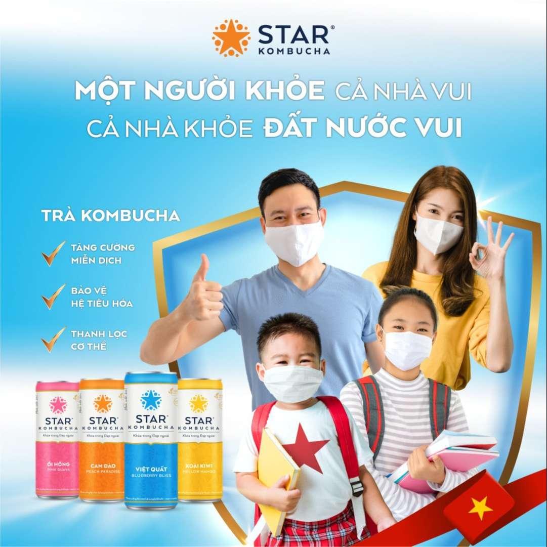 Star Kombucha khởi động chiến dịch vì sức khỏe cộng đồng