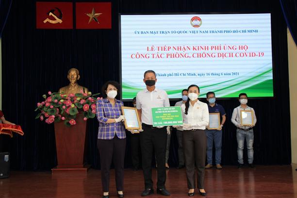 Star Kombucha hỗ trợ cộng đồng chống dịch