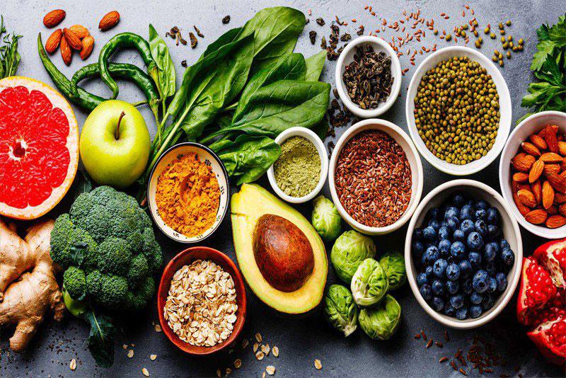 trái cây và rau quả, các loại đậu tăng sức đề kháng